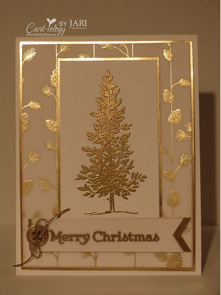 Lovely Tree for Christmas by Jari - Cards and Paper Crafts at Splitcoaststampers