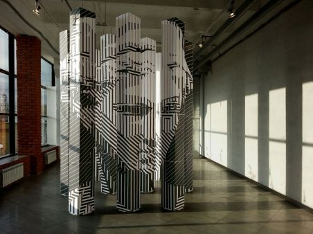 Инсталляция «Геркулесовы столбы» от Андрея & Татьяны Андреевых
