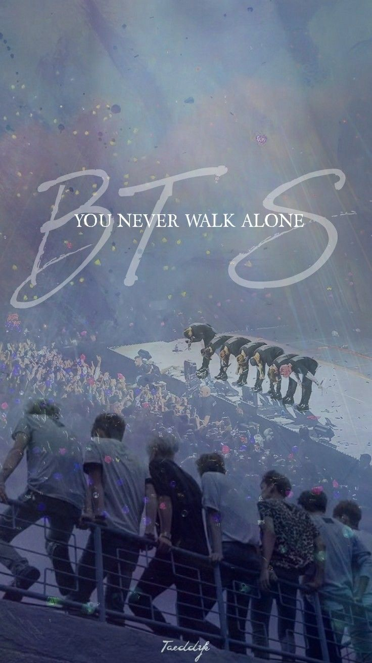 5 Years With Bts Bts You Never Walk Alone Wallpaper Bts