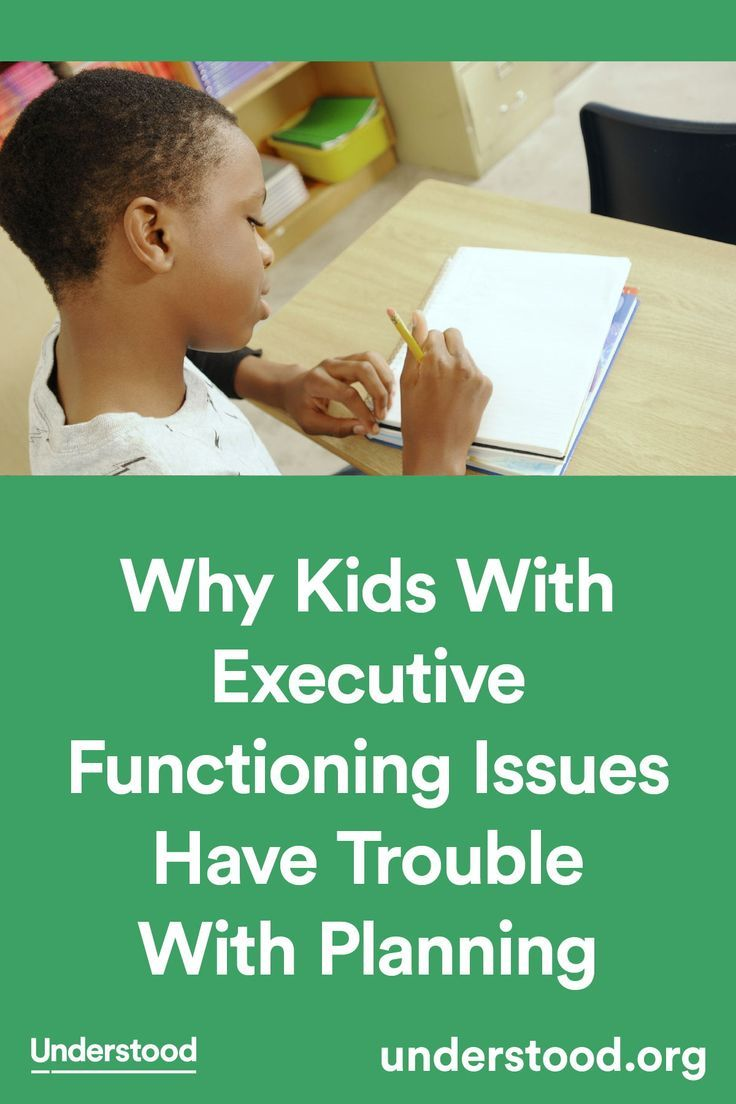 Is Special Education In Trouble >> Why Kids With Executive Functioning Issues Have Trouble With