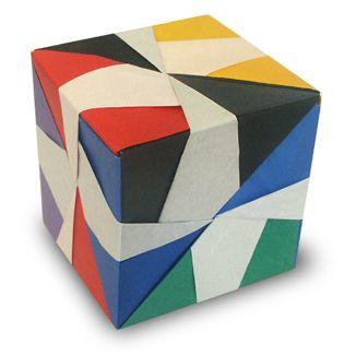 Origami Transformation Cube instruction