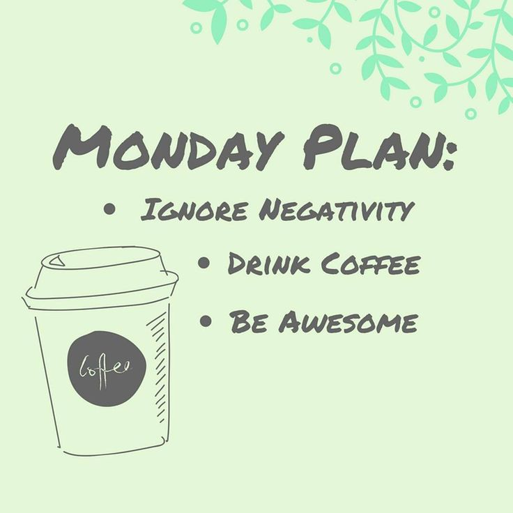 Monday Plan: Ignore negativity, drink coffee, be awesome ✌☕☀️ • • • #monday #motivation #motivationalquotes #motivationmonday #happymonday #nonegativity #thinkpositive #drinkcoffee #beawesome#newweek #newgoals #quoteoftheday #qotd #quotesgram #positivethoughts #positivevibes #mondaymood #sun #happy #work #packaging #design #graphic #doityourself #diy #canva #swedbrand #likeus #followus #instalike