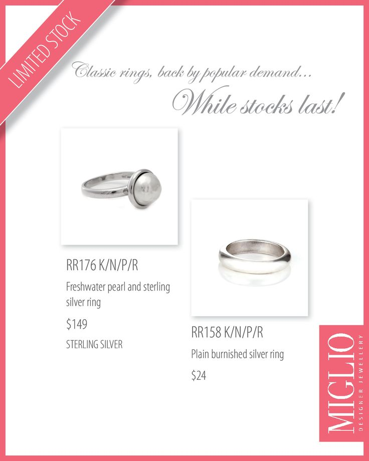 rings back by popular demand
