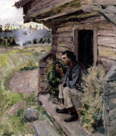 AKSELI GALLEN-KALLELA Evening Quiet