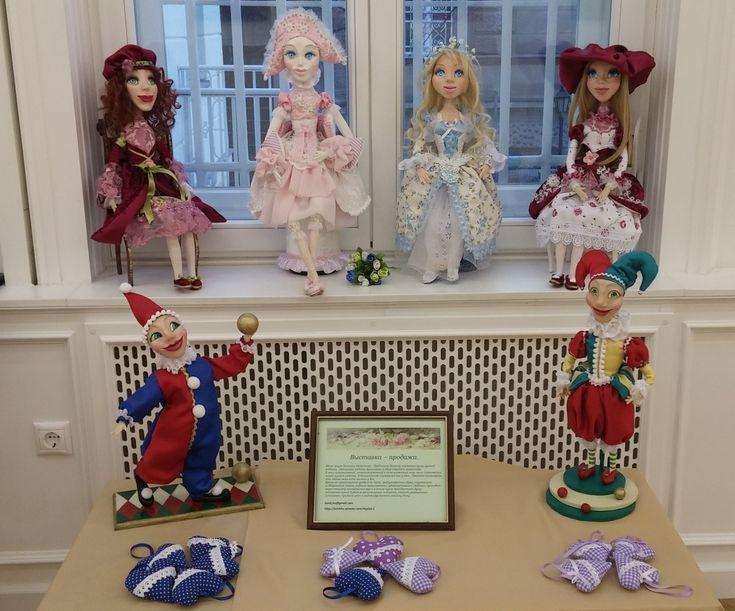 9-10 марта в Российском культурном центре в Будапеште состоялась выставка моих кукол. On March 9-10, an exhibition of my dolls was held at the Russian Cultural Center in Budapest.