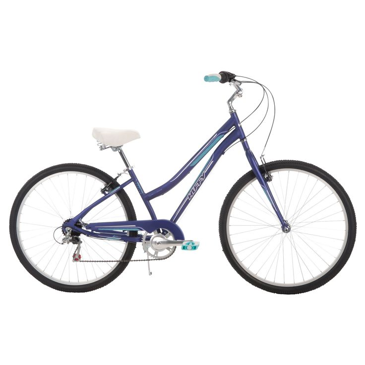 Huffy Women's Parkside 27.5 City Bike - Purple