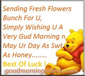good morning quotes   Good Morning Wishes - Pictures - Quotes - Sending fresh flowers bunch ...