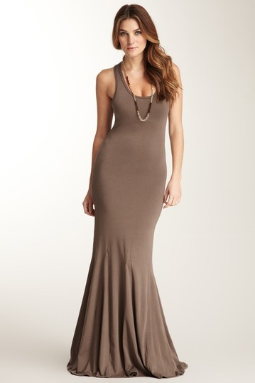 Go Couture Sleeveless Scoop Neck Maxi Dress by Memorial Day Maxis on @HauteLook~love the silhouette!
