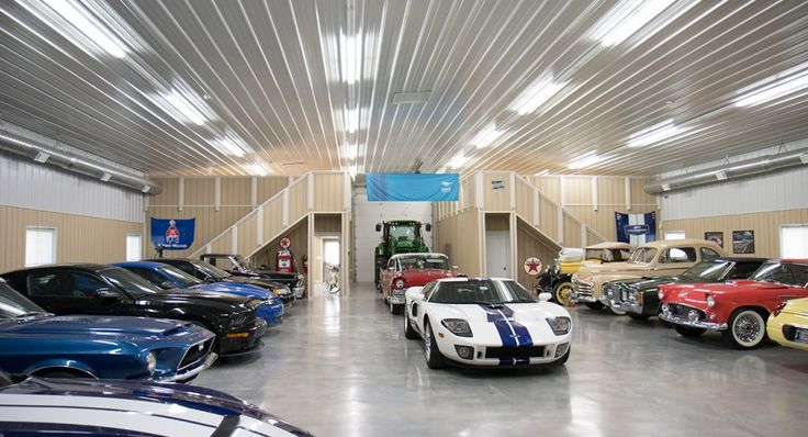 Morton Buildings Hobby Garage Interior In Broken Arrow