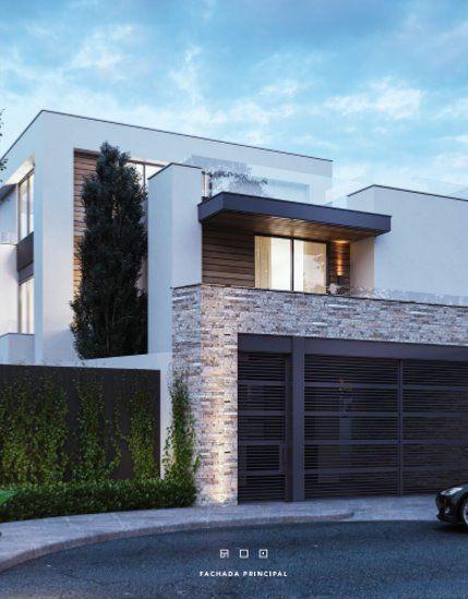 Casa en calle privada con un diseño contemporaneo Excelente distribución, iluminación natural, cocina marca Boato con cubierta de cuarzo, amplia con ...