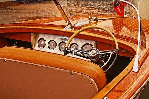 Chris Craft Interior