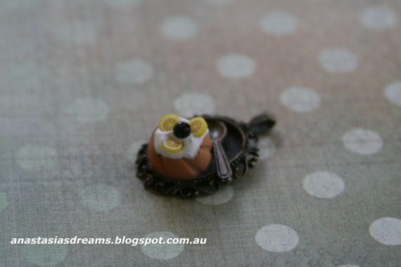 Pendant Handmade Miniature Food JewelryPolymer by AnastasiasDreams