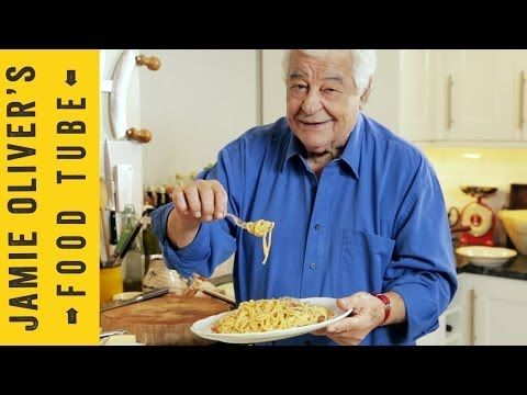 No cream, No bullshit, Just The Real Spaghetti Carbonara | Antonio Carluccio - I am huge fan of his accent btw.