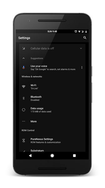 Domination Substratum Theme v5.1 [Patched]   Domination Substratum Theme v5.1 [Patched]Requirements:7.0 & up  Substratum Theme Engine  RootOverview:DOMINATION is a brilliant dark theme with black backgrounds and darker than stock Material colours for action bar status bar and accents. The way that Google should have made Material Design #WhiteUIMustDie !  ATTENTION: THIS THEME REQUIRES THEME READY GOOGLE APPS!!!  You must also be running a custom Nougat ROM that has support for OMS for this…