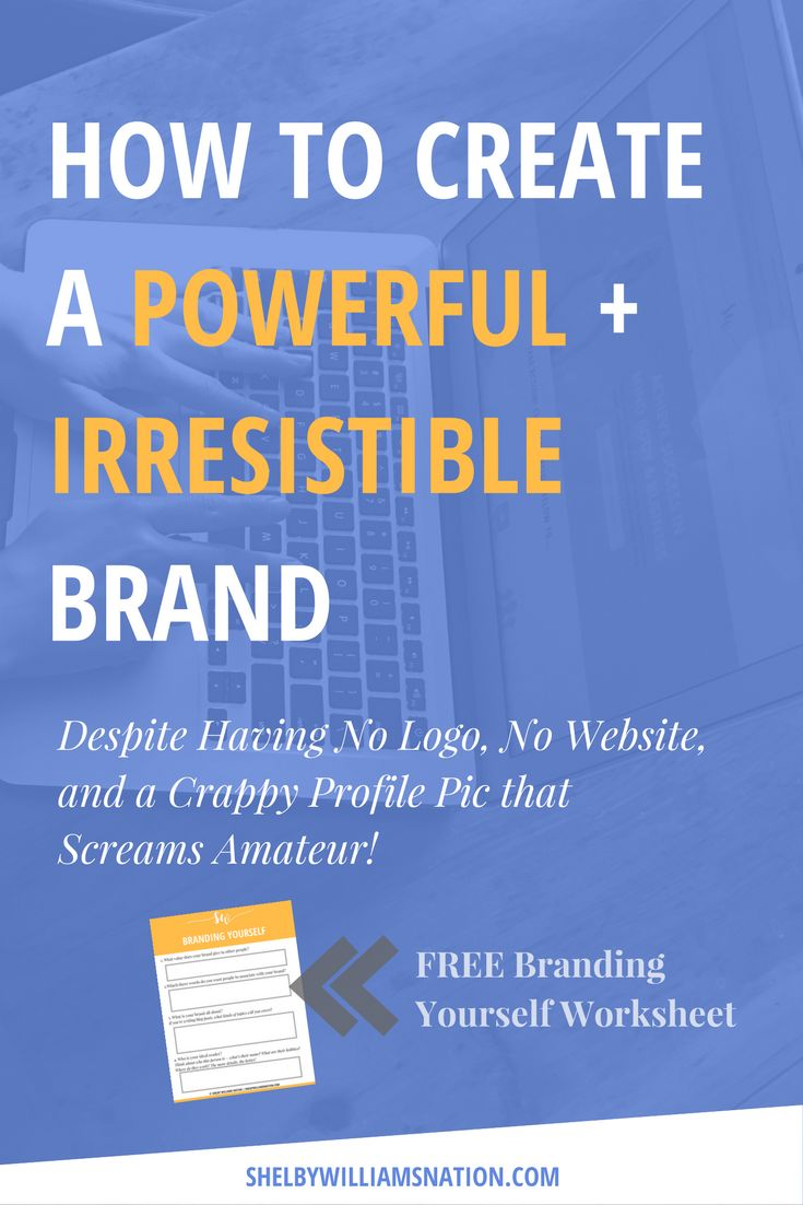 Building a brand is NOT what most people think it is. Well, here's my promise to you…you'll know everything you need to know about dramatically increasing your brand's social capital to effortlessly attract new prospects for your business.. CONTINUE READING! & Don't forget to get my FREE branding worksheet!