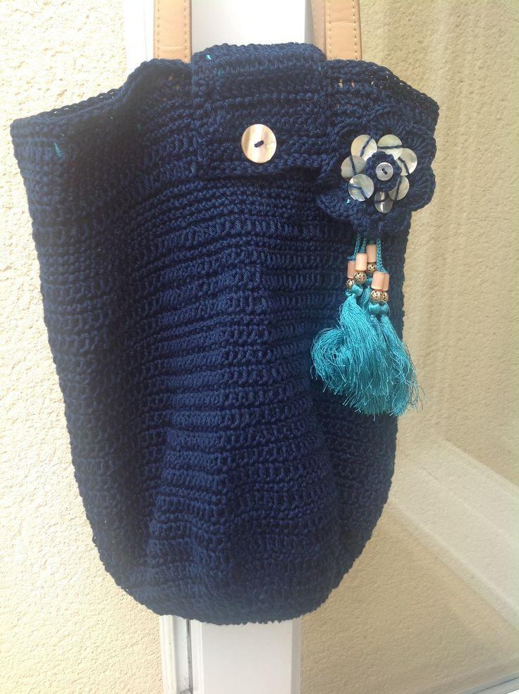 Lining Crochet Bag : crochet bags