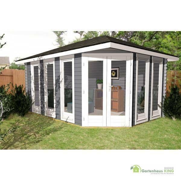 eBay Sponsored 5 Eck Gartenhaus Holz 45x3m Holzhaus 40mm