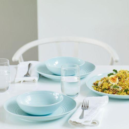 BRAND-NEW-Gordon-Ramsay-Royal-Doulton-Maze-12-Piece-Dinnerware-Set-in-Blue
