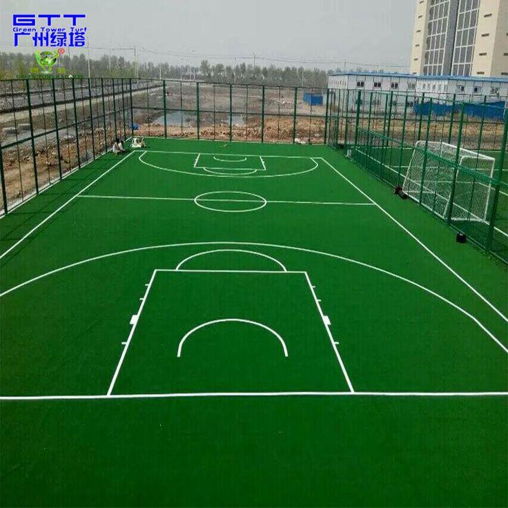 Durable Vert Sport en Gazon Synthétique Gazon Artificiel pour terrain de Basket