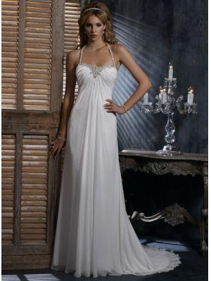 Belle Robe de mariée orné de perle