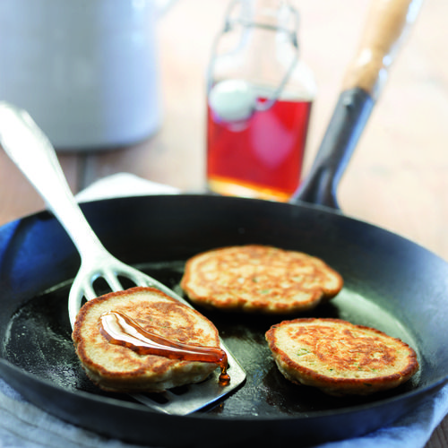 Glutenvrije courgette pannenkoeken - Amber Albarda