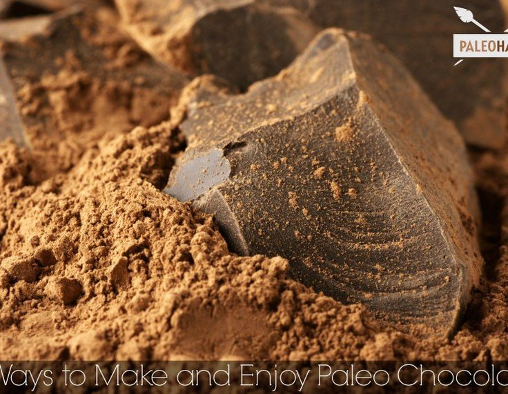 3 Ways To Make & Enjoy Paleo Chocolate