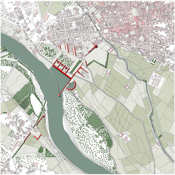 Il medio corso del Po tra Piacenza e Cremona. Identità dei luoghi, scena urbana, paesaggio naturale.