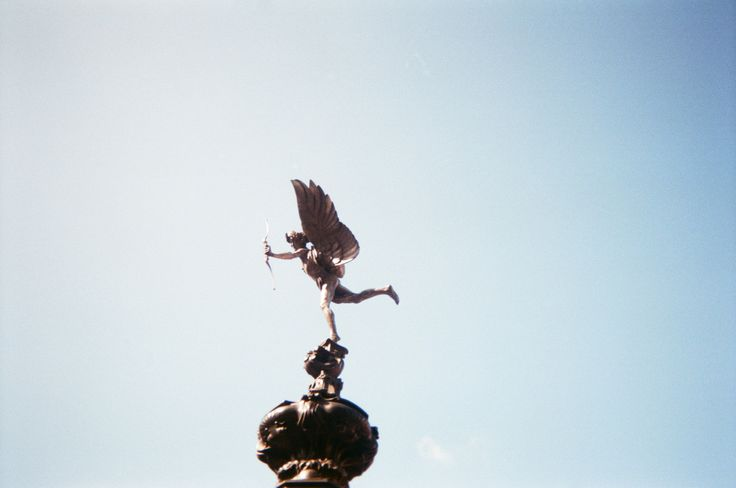 "#NYU #London | Shaftesbury Memorial Fountain (""Eros""), Piccadilly Circus, London, England"