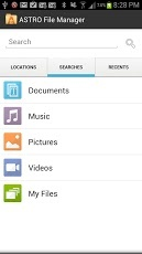 ASTRO File Manager / Browser