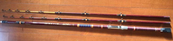Used fishing spinning rod ? DOZUKI OKINOSE240DX from Japan (K)