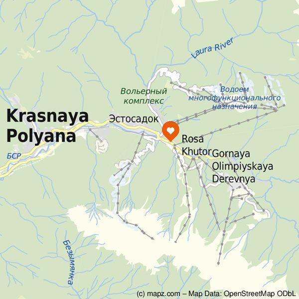 Sotschi 2014: Eine Vektor-Detailkarte der Olympia-Wettkampfstätten in den Bergen findet Ihr hier: http://www.mapz.com/link/aw2f7edo