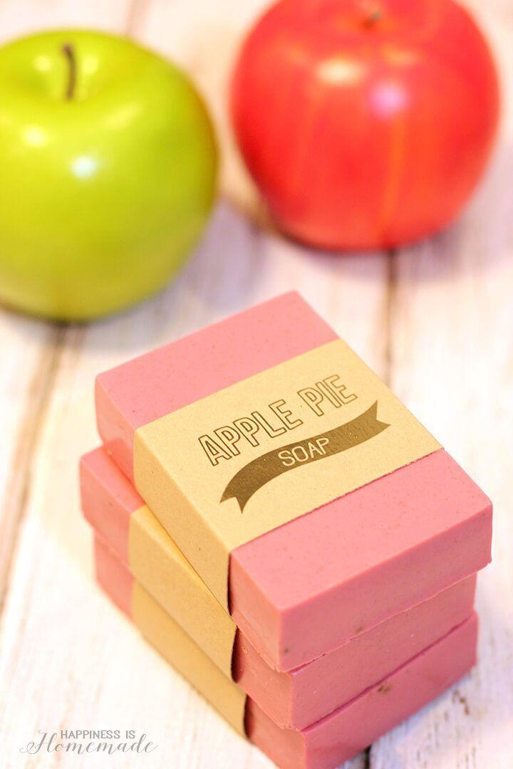 DIY Apple Pie Soap Recipe Smells Like Fall