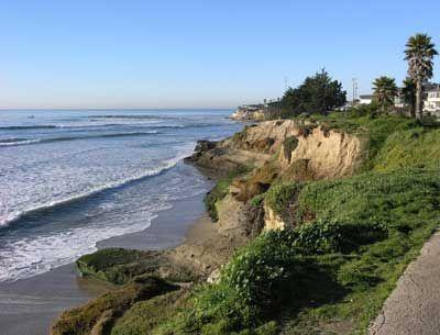 Pleasure Point- Santa Cruz, California. One of my favorite surf spots.