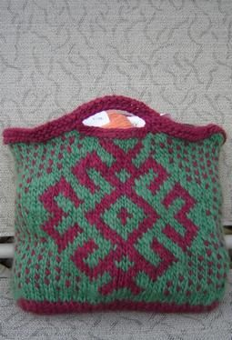 78 best images about Free Knitting Patterns (Purses, Bags and Totes) on Pinte...