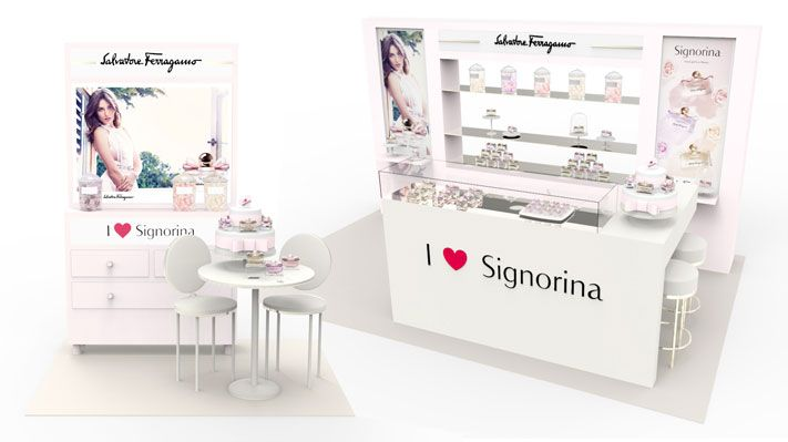 Signorina Ferragamo Valentines Day 2015 big small area Sotano Studio