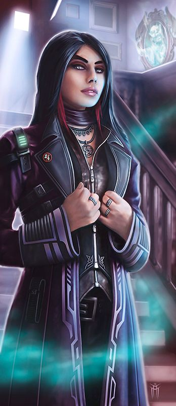 Shadowrun Archetype Ghosthunter Mage by KARGAIN.deviantart.com on @DeviantArt