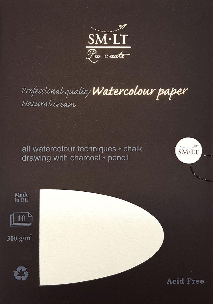 SM-LT Pro Crate akvarellipaperi - Watercolor paper. #watercolorpaper