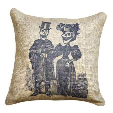 I pinned this Dos Esqueletos Pillow from the Dia de los Muertos event at Joss and Main!