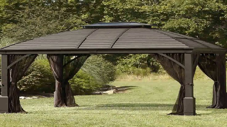Best 25 Hardtop Gazebo Ideas On Pinterest Backyard