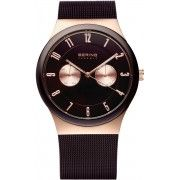 Bering High Tech Ceramic Watch. Steel Case, Sapphire Glass, Mesh Band, €229