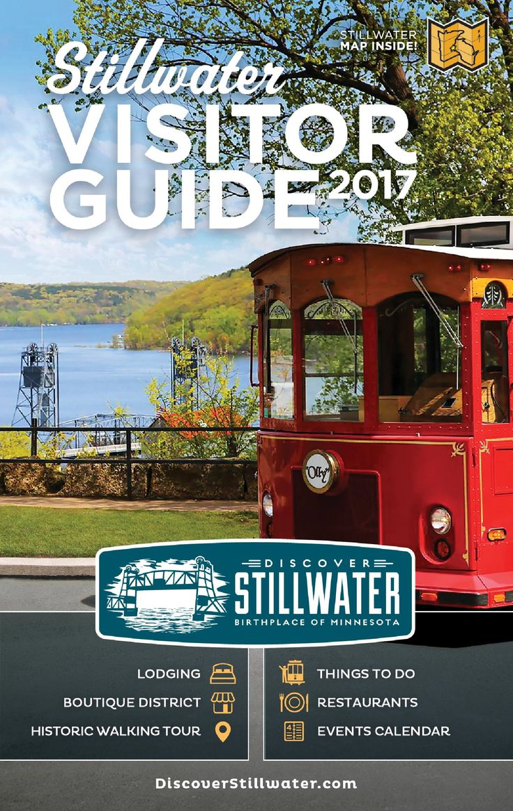 Order a Complimentary Stillwater Visitor Guide with Maps