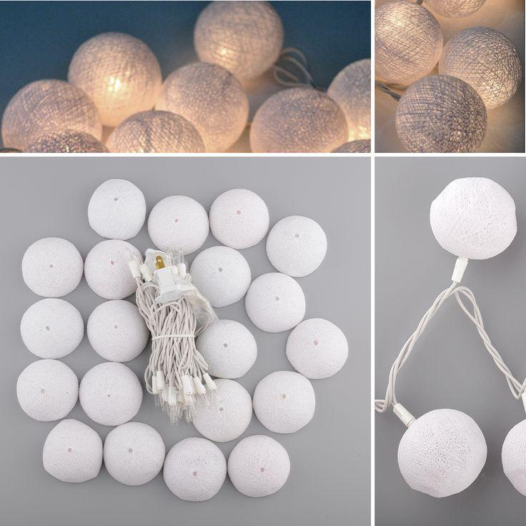 Aladin romântico lindo 3 M 20 algodão corda para banquete de casamento decoração ornamento em Cordão de Iluminação de Luzes & Iluminação no AliExpress.com   Alibaba Group