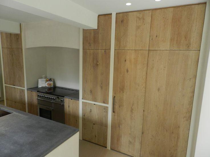 Keuken nieuwbouw texture painting alle mortex toepassingen en schilderwerken van een - Badkamer recup ...