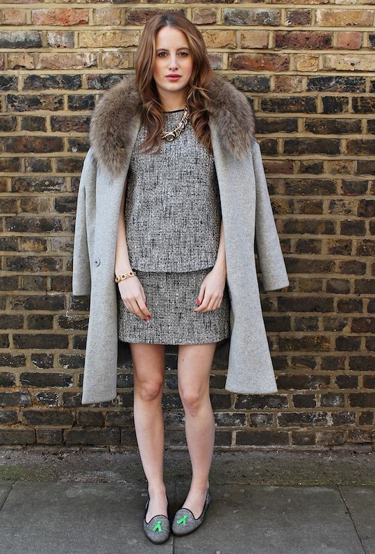 Rosie Fortescue of Made In Chelsea in Lolu Rhoda Ruby Empire Bracelet.  http://atfashionforte.com/style/street-style-100314/