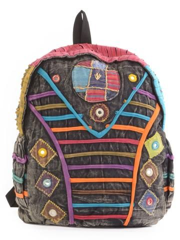 Hippie Backpack - Forgotten Tribes - 1
