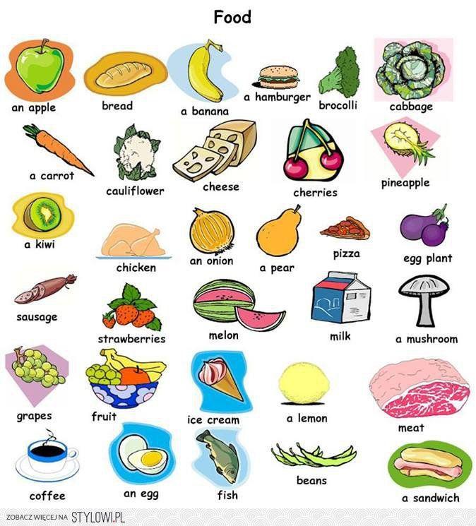 Angielski Vocabulary English Vocabulary Onion Pizza