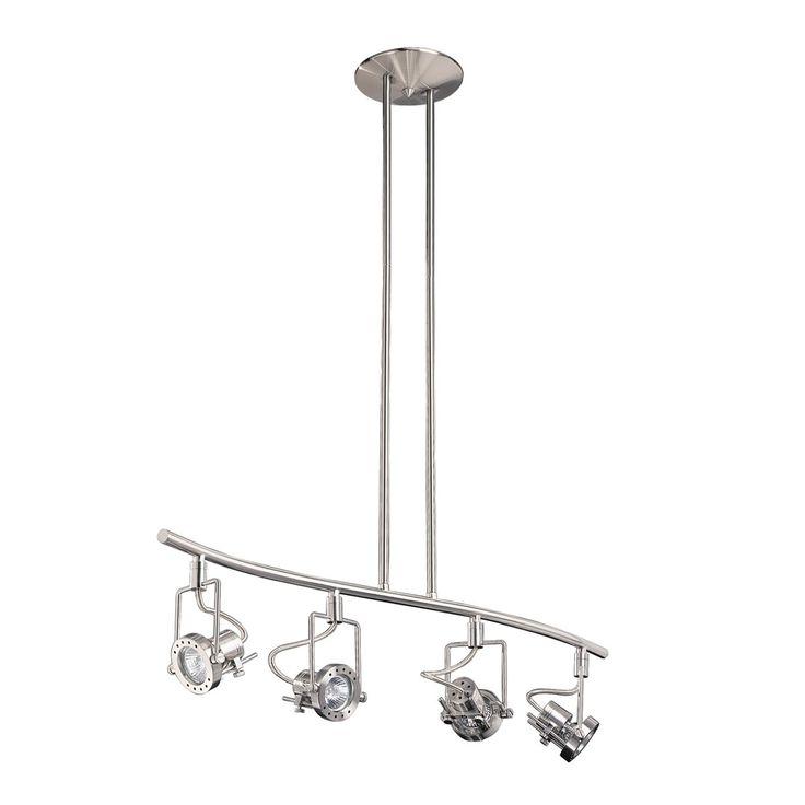 Kendal lighting hpf4000 4l sn 4 light directional spot track lighting kit lowes