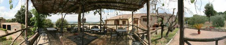 Gli esterni del #Borgo in #Toscana - The exteriors of the #village in #Tuscany