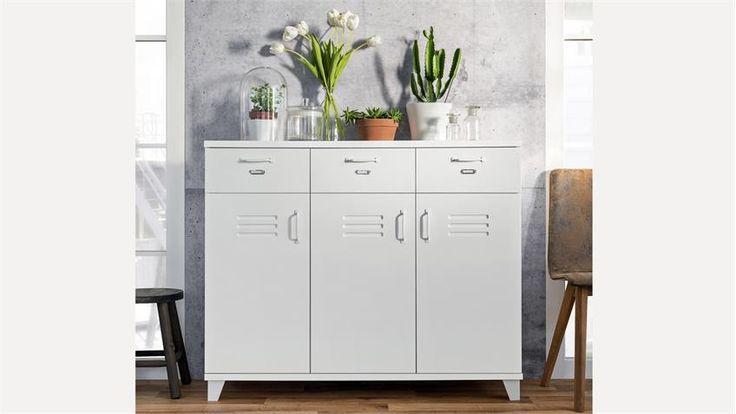 die besten 25 highboard wei ideen auf pinterest highboard ikea sideboard skandinavisch und. Black Bedroom Furniture Sets. Home Design Ideas