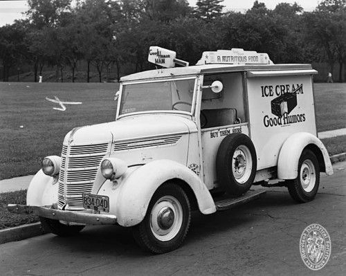 Good Humor Ice Cream Truck, July 7, 1948...I remember it from the 50s and 60s. It came down Las Flores Street near Melrose and I listened for the music!